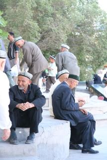 Call to prayer in Kashgar